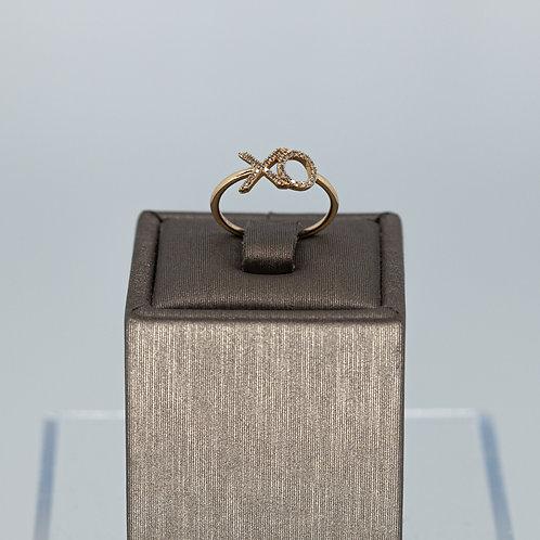 XO Diamond Ring