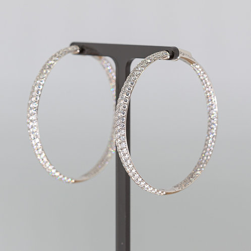 The Ultimate Diamond Hoops