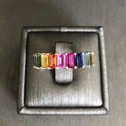 Rainbow Eternity Band
