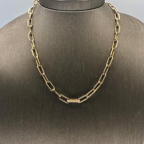 Diamond Link Gold Chain