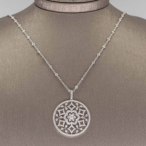 Diamonds By The Yard with Spectacular Diamond Pendant