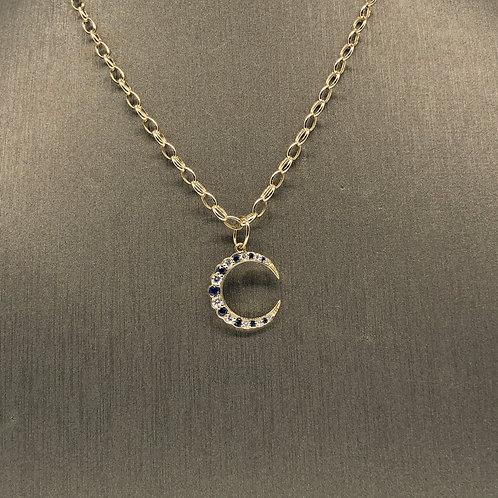 Sapphire and Diamond Crescent