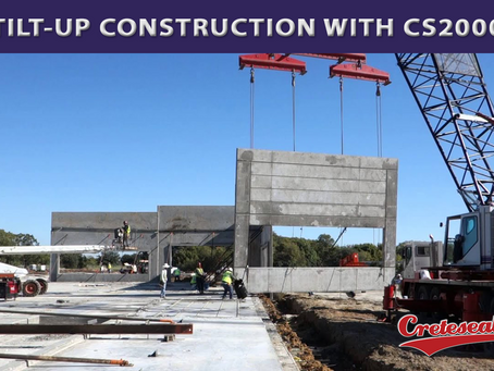 TILT-UP CONSTRUCTION WITH CS2000