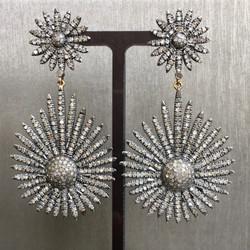 Indian Diamond Burst Drops