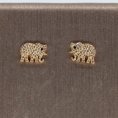 Elephant Diamond Studs