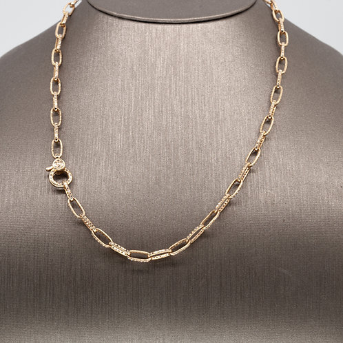 Solid Gold and Diamond Chain