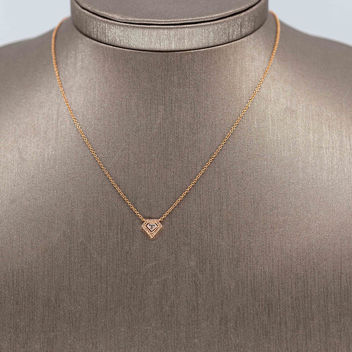 Super Woman Diamond Necklace