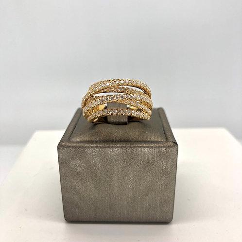 Multi Diamond Band Ring