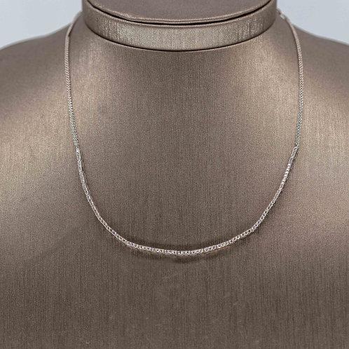 One Carat Diamond Tennis Necklace