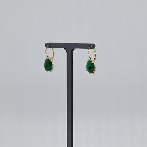 Emerald and Diamond Drops