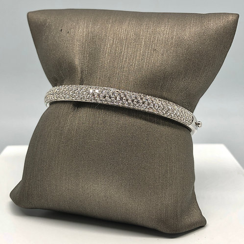 5 Row Diamond Bangle