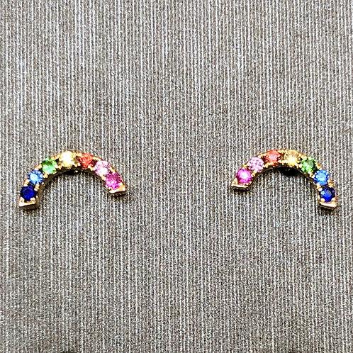 Baby Rainbow Studs
