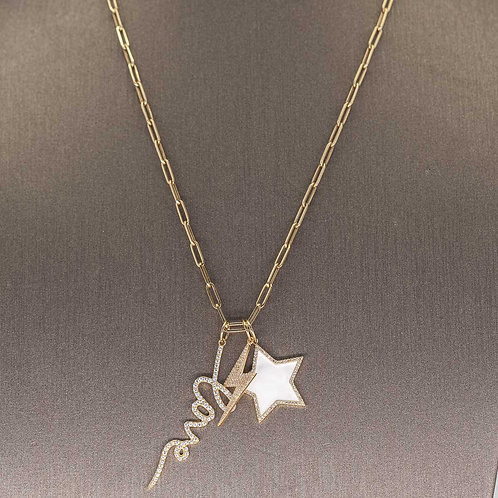 Multi Charm Icon Necklace