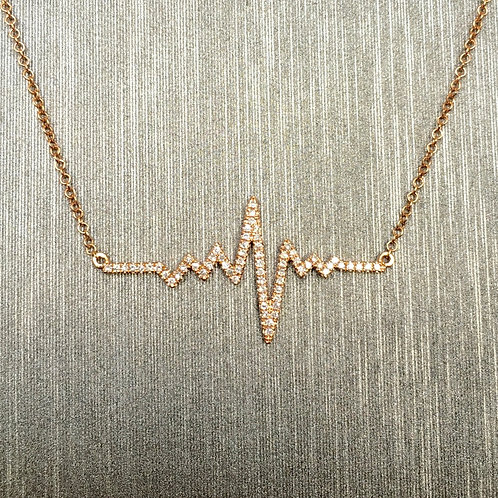 The Heartbeat Necklace