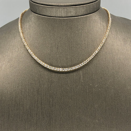 Classic Tennis Necklace