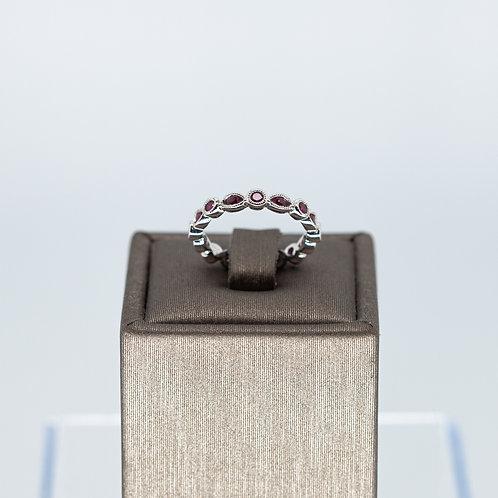 Ruby Stacking Ring
