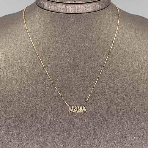 MAMA Diamond Necklace