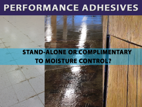 Performance adhesives