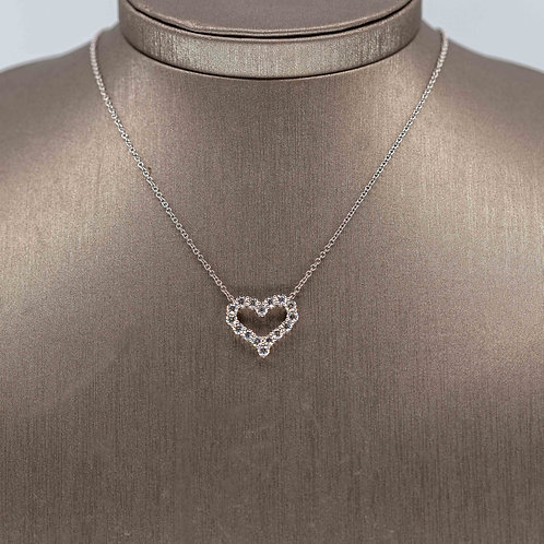 Killer Diamond Heart Necklace