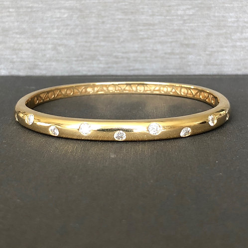 Diamond Etoile Goddess Bangle