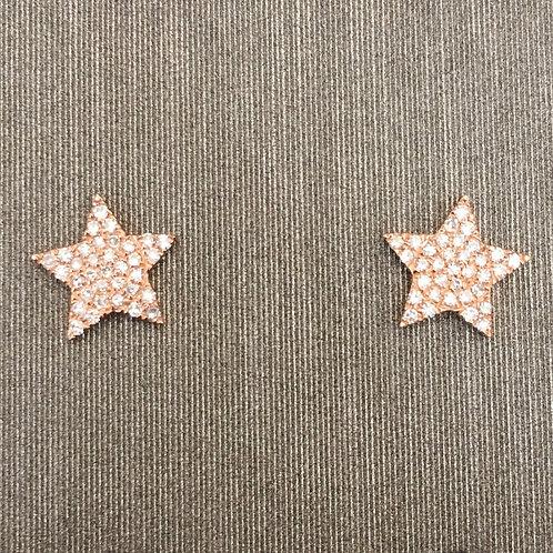 5 Point Diamond Star Studs