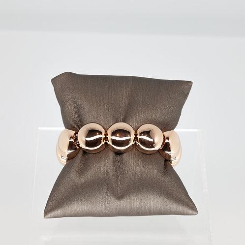 The Large Aura Bracelet in Rose Gold