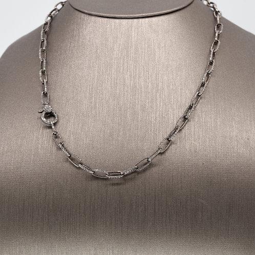 Silver and Diamond Chain