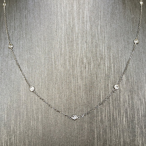 Diamond By The Yard in White Gold