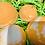 Thumbnail: Orange Swirl Bath Bombs