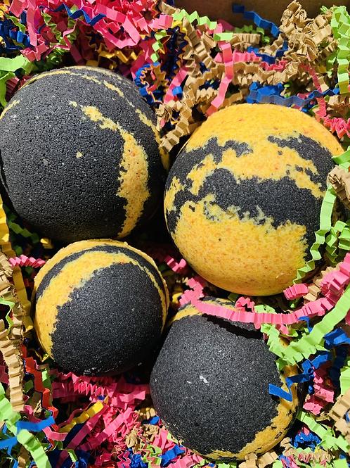 Turmeric & Black Pepper Bath Bombs