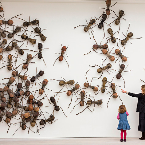 Eyewitness: Saatchi Gallery, London
