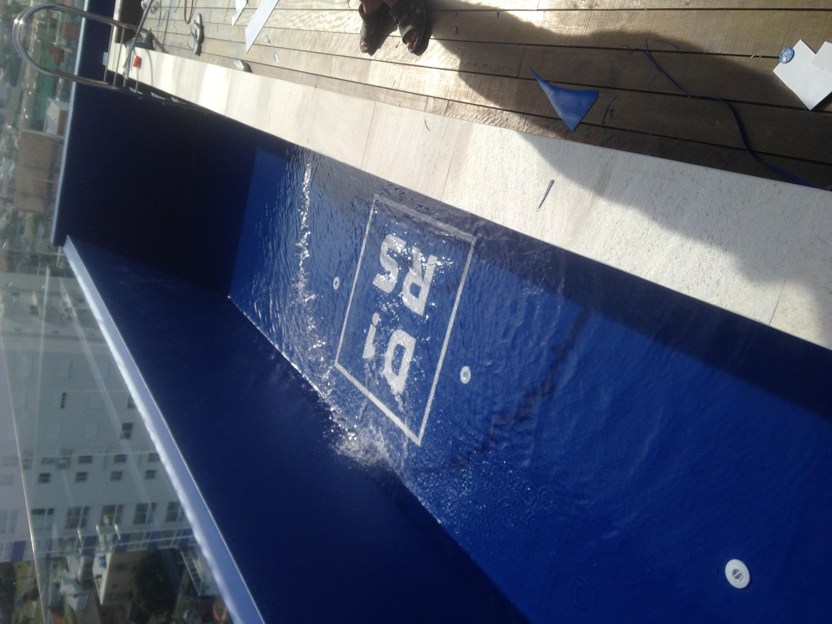 Piscina manta de PVC