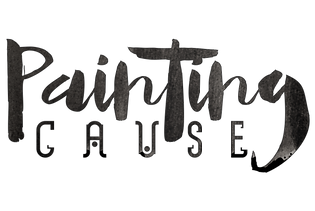 Painting Cause Paint Night Logo