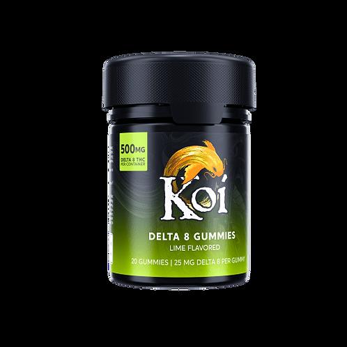 Koi Delta-8 THC Lime Gummies – 500mg