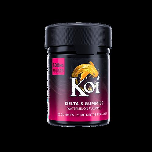 Koi Delta-8 THC Watermelon Gummies – 500mg