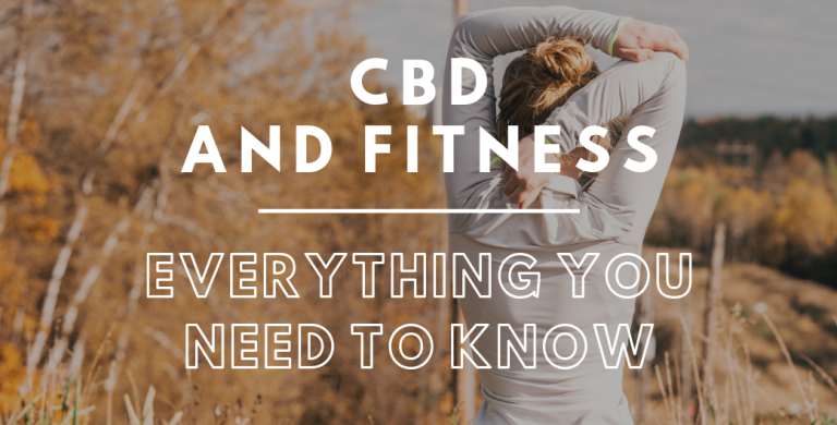 So what's all the fuss about CBD and Fitness?