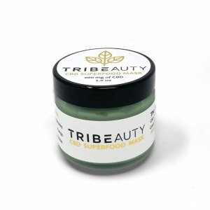 TriBEAUTY 6-in-1 CBD Superfood Mask | Brightening Superfood Antioxidants