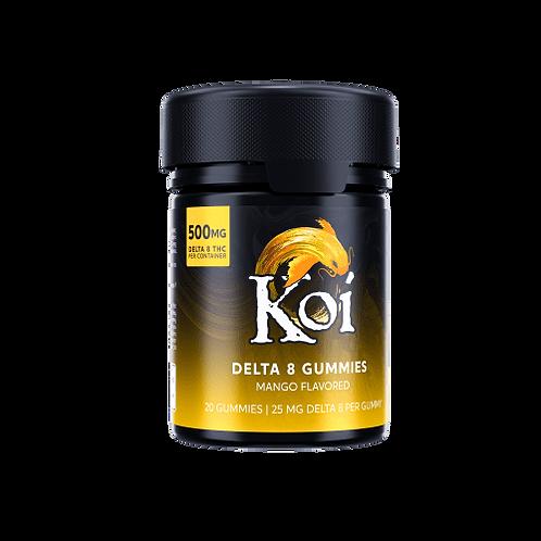 Koi Delta-8 THC Mango Gummies – 500mg