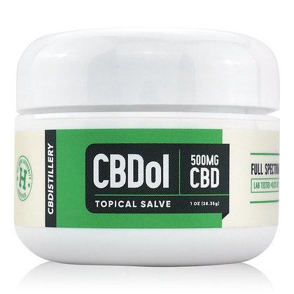 CBDol Topical | CBD Salve 500mg