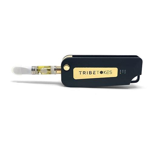 "The Vape Saber ""Keybox"" Flip Battery |Gold"