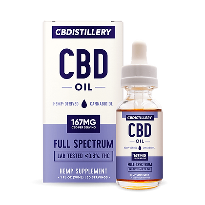 Full Spectrum CBD Oil Tincture - 5000mg - 30ml