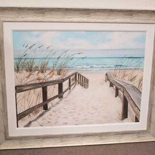 Beach Walk Print
