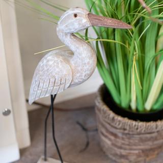 Wood Bird & Grass