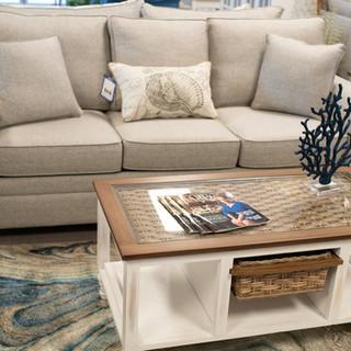 Tork Ask Sleeper Sofa + Island Breeze