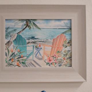 Mini Adirondack Chair Print