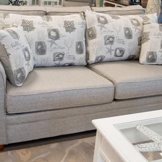 Tork Ash _ Call Taupe Queen Sleeper Sofa
