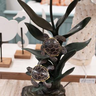Turtle Leaf Lamp