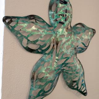 Metal Starfish Wall Art