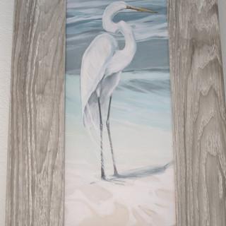 Egret Mini Print
