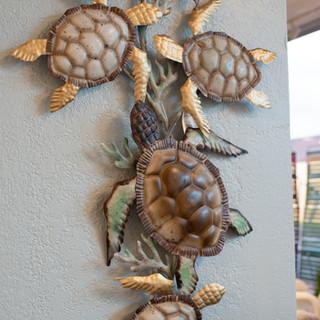 Turtle Metal Wall Art